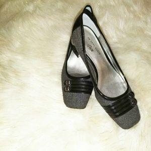 Anne Klein| shoes|black|size 7M